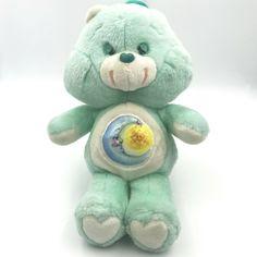 Vintage Kenner Care Bear BEDTIME BEAR 1983 Plush Stuffed Animal Moon Star #CareBears #AllOccasion