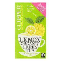 Bestel gemakkelijk je Clipper Organic green tea lemon (20 zakjes)  online bij Albert Heijn. Al je boodschappen thuisbezorgd of ophalen.
