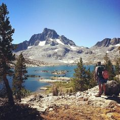 JOHN MUIR TRAIL, California try: from Tuolomne Meadows to the Devil's Postpile, a 28-mile hike that starts in Yosemite, goes through much of the Ansel Adams Wilderness and ends back in Yosemite. It's one of the most beautiful sections of trail in the world: backcountry lakes, mountains, glaciers, wildlife, etc. Easily accessible from natl park, good for all skill levels of hiking