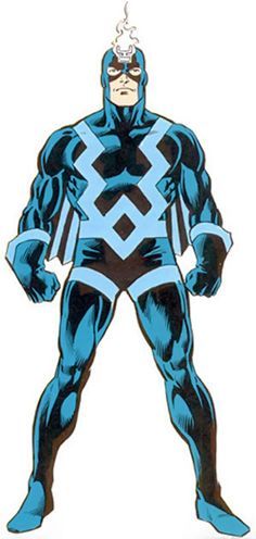 Black Bolt - Marvel Comics - Inhumans - Silent king
