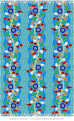 Pareo SORTE (Luck) | Wagner Campelo Pink Patterns, Cool Patterns, Textures Patterns, Fabric Patterns, Motifs Textiles, Memphis Pattern, Textile Texture, Design Repeats, Tumblr Wallpaper