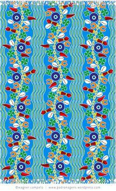 Pareo SORTE (Luck) blue