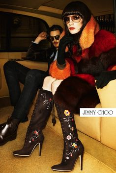 Jimmy Choo Fall 2012 Ad by Terry Richardson