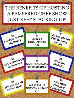 Just check out these rewards, why wouldn't you want to host a show with me??