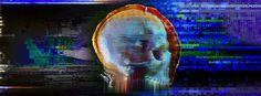 Fb skull #glitch