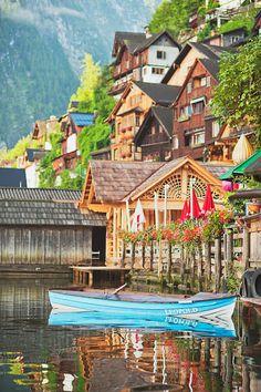 Hallstatt, Austria #travel