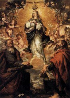 Juan de Valdés Leal. Inmaculada Concepción.