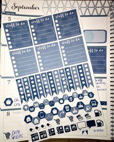Erin Condren Planner Stickers for Horizontal Planners
