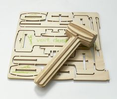 I don't really need a mallet but I'm fascinated by the endless possibilities offered by plywood. And human ingenuity.