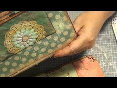 How to bind a journal using the pamphlet stitch pt1 - YouTube