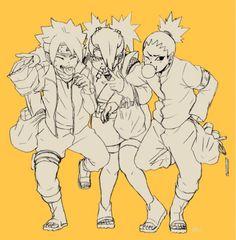 Boruto, Chouchou, and Shikadai #Naruto