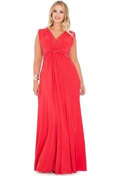 c01afdf48f865 Plus Size Maxi Dresses, Women's Dresses, Women's Fashion Dresses, Knots,  Tying Knots