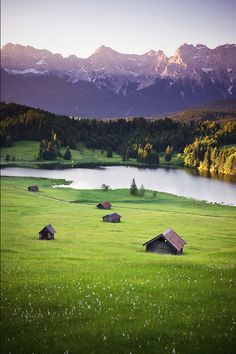 Good morning Karwendel Mountains, Bavaria, Germany via Flickr