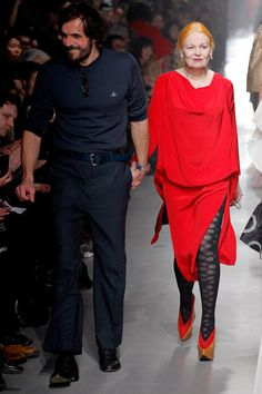 FALL 2013 READY-TO-WEAR  Vivienne Westwood /   Andreas Kronthaler and Vivienne Westwood.