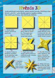 Výsledek obrázku pro vánoční hvězda z papíru