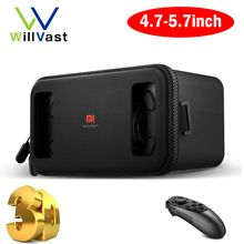 Original Xiaomi VR Headset Mi BOX Black Google Cardboard Daydream View VR Virtual Reality Goggles Gamepad for 4.7''-5.7'' Phone Digital Guru Shop  Check it out here---> http://digitalgurushop.com/products/original-xiaomi-vr-headset-mi-box-black-google-cardboard-daydream-view-vr-virtual-reality-goggles-gamepad-for-4-7-5-7-phone/