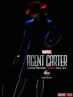 Одним из самых ожидаемых проектов начала следующего года телевизионные критики называют сериал «Агент Картер» (Agent Carter). Marvel Entertainment вовсю готовится к премьере, выпуская новые постеры и фотокадры из премьерного эпизода.