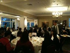 It's dinner time at the National Association of Asian American Professionals (NAAAP)'s Connecticut Women in NAAAP (WIN!) Kick off Event at Hartford Country Club. 9/21/11