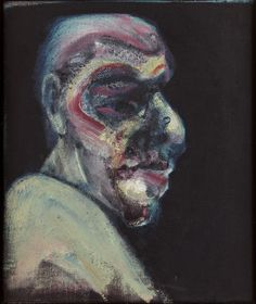 Francis Bacon, Head of a Man No 1, 1960. Oil paint on canvas.