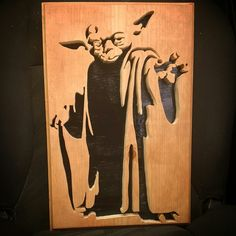 Yoda scroll saw                                                                                                                                                      More