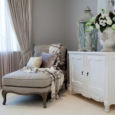 Shabby Chic & Country #chaise