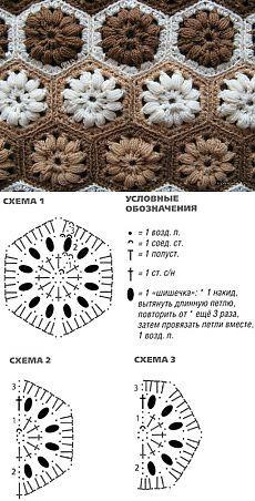 Crochet Lace Edging, Crochet Diagram, Crochet Chart, Crochet Squares, Hand Crochet, Crochet Stitches, Crochet Purse Patterns, Crochet Purses, Easy Handmade Gifts