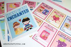 Under A Cherry Tree: LD Printable Valentines