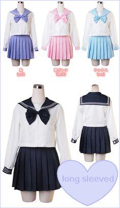 Sakura Sailor Uniform ♡ free shippingenter