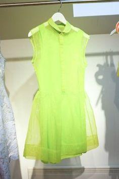 sheer green dress ♥              (via TumbleOn)