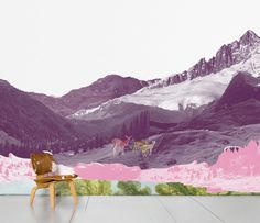 Mont Rose Wallpaper - lifestylerstore - http://www.lifestylerstore.com/mont-rose-wallpaper/