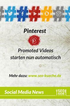 Promoted Videos auf Pinterest starten nun automatisch | Pinterest News