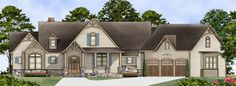 Tres Le Fleur House Plan - 4445 my favorite plan so far! 2498 sq ft. Bonus room and in-law suite!