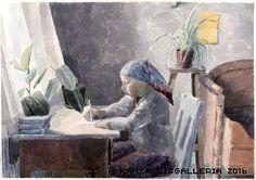 Kansallisgalleria - Taidekokoelmat - Hanhijoki, Marjatta Watercolor, Artist, Painting, Museum, Pen And Wash, Watercolor Painting, Watercolour, Painting Art, Paintings