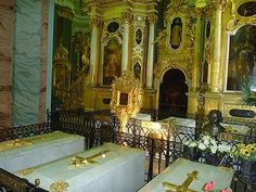 Royal family tombs, Peter and Paul Cathedral, St. Petersburg, Russia