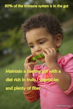 80% of the immune is in the gut. Maintain a healthy gut with a diet rich in fruits, vegetables and plenty of fiber as well as probiotic rich foods or supplements.