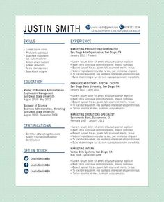 10 resume writing tips from an HR Rep - illistyle.com---I REALLY like the layout of this resume! #career Interivew Tips Interviewing