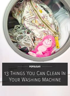 13 Surprising Things You Can Clean in Your Washing Machine