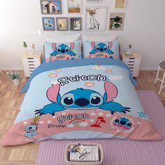 Disney Stitch Bettwäsche Set - New Ideas Lilo And Stitch Movie, Disney Stitch, Duvet Bedding, Bedding Sets, Girls Bedroom, Bedroom Decor, Bedroom Ideas, Lelo And Stitch, Cute Fall Wallpaper