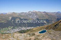 #View From Mt. #Jakobshorn Down To #Davos & #Lake Davos In #Graubuenden In #Switzerland In Summer @depositphotos #depositphotos #nature #landscape #mountains #hiking  #travel #summer #season #sightseeing #vacation #holidays #leisure #outdoor #view #wonderful #beautiful #panorama #stock #photo #portfolio #download #hires #royaltyfree