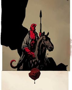 Hellboy: The Wild Hunt 1 Cover. #Hellboy #Comics #DarkHorse #DarkHorseComics #AnungUnRama #BigRed #BigRedMonkey #hellboycomics #MikeMignola #righthandofdoom #BPRD #SonoftheFallenOne #BrotherRed #SeedofDestruction #bureauforparanormalresearchanddefense