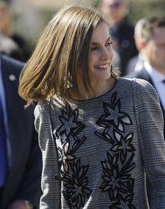 Reina Letizia visita Lienzo Norte Centro de Convenciones en Ávila