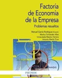 Factoría de economía de la empresa : problemas resueltos