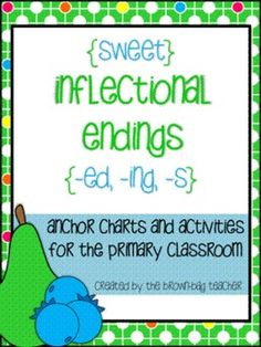 This product includes materials and activities to introduce, practice, and assess student understanding of inflectional endings {-ed, -ing, -s}. It is intended for the Primary Classroom. $
