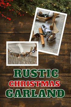 Rustic Christmas Garland – pleatandpom Merry Christmas, Rustic Christmas, All Things Christmas, Christmas Ideas, Christmas Inspiration, Holiday Ideas, Christmas Crafts For Adults, Crafts For Kids, Christmas Decorations