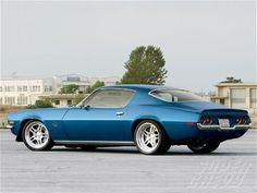 Kyle Tucker's 1970 Chevy Camaro competed in the 2009 #OUSCI