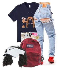 beyonce slays by bfamily on Polyvore featuring polyvore, fashion, style, JanSport, Kate Spade, Nike Golf and clothing