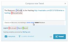 Rite Tag - hashtag finder for Twitter