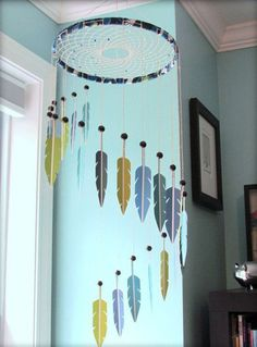 Simple and Easy DIY Dream Catcher to Beautify your Space 32   realivin.net