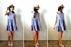 DIY : robe d'été à 2 volants | tutoriels de couture | Blog de Petit Citron