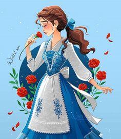 Walt Disney Princesses, Disney Belle, Film Disney, Disney Princess Drawings, Princess Art, Disney Fan Art, Disney Girls, Disney Drawings, Disney Pixar